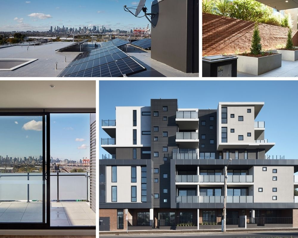 Collage_Photo of Unison's Development in Footscray