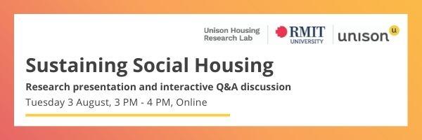 Banner_Sustaining Social Housing_online event